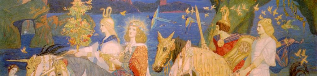 Riders of the Sidhe by John Duncan (cropped detail)