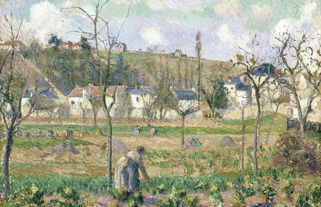 Le Jardin de Maubuisson by Camille Pissarro (1830-1903)